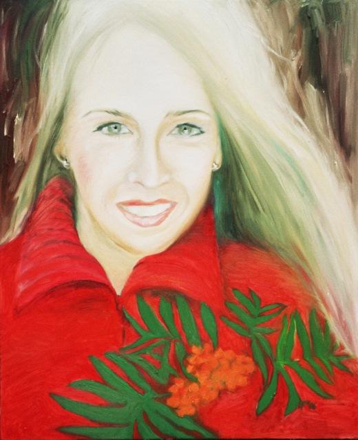 Pihlakad, õli lõuendil, 2006