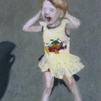 Kaja, õli lõuendil, 20x25cm, 2005