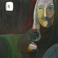 2010, Lülitivalgel, õli papil 104x93cm