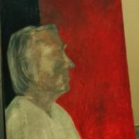 Portree, õli papil 60x50cm, 2001