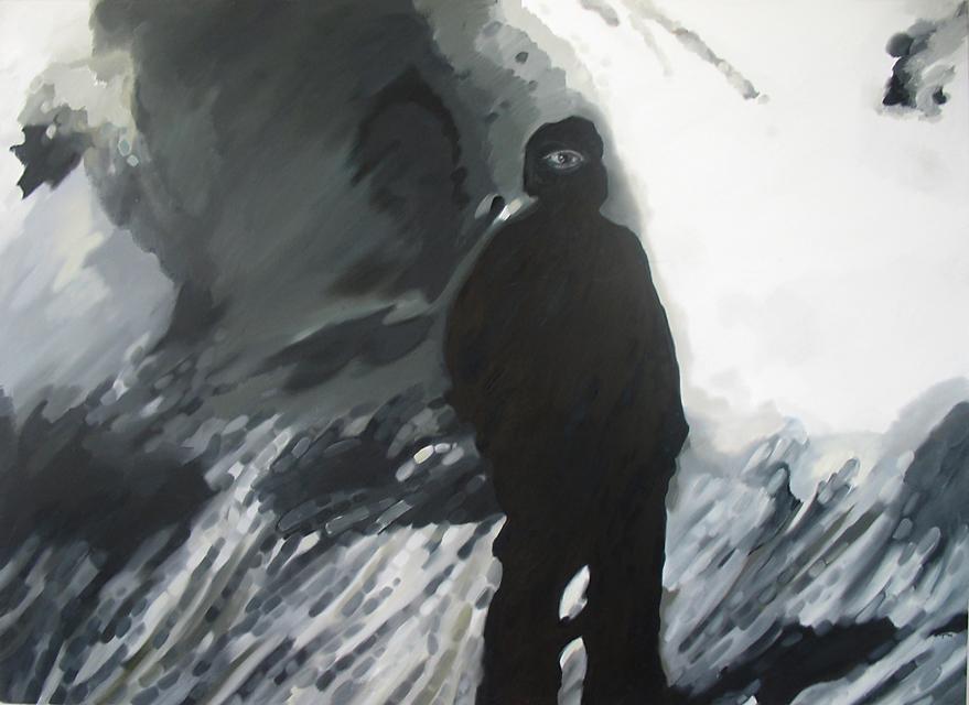 2005, Pealtnägija 11. sept, õli lõuendil 219x159cm