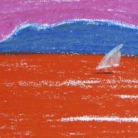 Saar Sapientza, pastell Peloponnesos, 2005, pastell A4