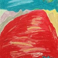 Punane meri, Egiptus 2010, pastell A4
